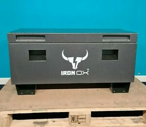 """36"""" Van Vault Site Box Tool Box   Steel lockable Box with FREE DELIVERY Iron Ox®"""