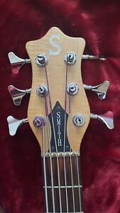 Ken Smith 6 String Bass W/Booster Switches and Levy's Genuine Leather Gig Bag