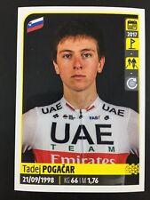 Tadej Pogacar Rookie RC Sticker Panini Tour De France 2020 #369