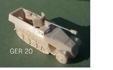 Sdkfz 251/22 Ausf D media pista armadas con PaK 40 75mm Kit de Modelo de Resina Pistola-G14
