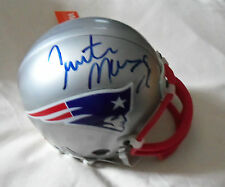NFL : Curtis Martin Autographed New England Patriots mini helmet - In Box