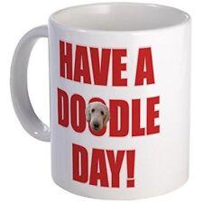 11oz mug Doodle Day Goldendoodle