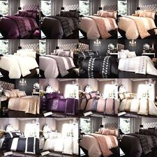 Luxury Duvet Cover Set - Bedding Set Pillow cases Single Double King Super King