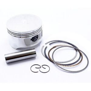 Standard Bore Size 72mm Piston Kit W/ Pin Rings Clips Set For Honda CH250