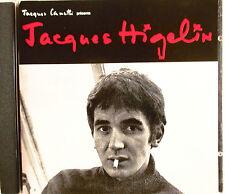 """JACQUES HIGELIN - RARE CD """"JACQUES CANETTI PRÉSENTE JACQUES HIGELIN"""""""