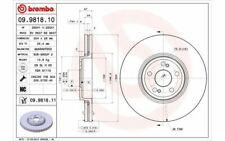 2x BREMBO Bremsscheiben vorne belüftet 324mm für RENAULT ESPACE 09.9818.10