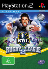NRL Rugby League 2 - Ps2 - USED - 30 Day Warranty
