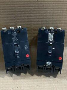 NEW GENERAL ELECTRIC GE TEY TEY315 3 POLE 480/277V 15 AMP CIRCUIT BREAKER
