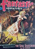 Vintage FANTASTIC Sci Fi Pulp Magazine May 1952 Vol 1 4 #5