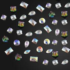 Shiny 3D Glitter Rhinestone Crystal Nail Art Tips Gems Decoration Wheel DIY tool