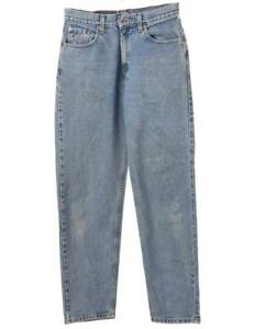 Women`s Vintage Levi`s 560 High Waist Loose Tapered Mom Jeans UK 20 / W40 L34