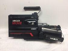 Vintage 1987 Minolta CR-1200S AF Movie Camera
