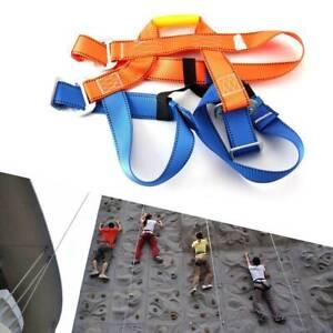 Outdoor Heavy Duty Tree Climbing Rappelling Belt Rigging Rock Harness Safety UK