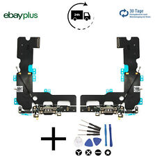 iPhone 7 Plus Ladebuchse Dock Connector Charging Port Flex Schwarz + WKZ Neu