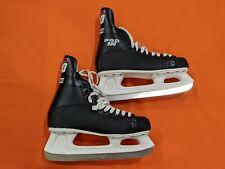 Ccm Pro 500 Men's Ice Hockey Skates Size 11. Sl-1000 black and white (lot#309)