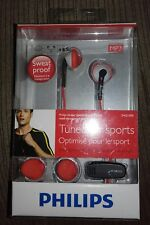 Philips SHQ1000 In-Ear only Headphones - White/Red