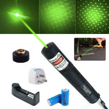 NEW JD851 Laser Pointer 1mw 532nm 16340 Rechargeable Battery Green OZ AU Post