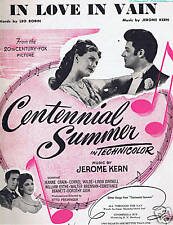 1946 - Centennial Summer- In Love in Vain - Crain,Wilde