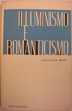 LETTERATURA MAZZOLI ILLUMINISMO E ROMANTICISMO