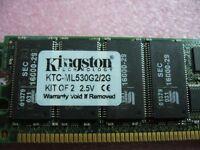 QTY 1x 1GB DDR PC-2100R 266Mhz ECC Registered Server memory Kingston KTC-ML530G2