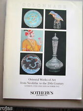 Sotheby's Oriental Works of Art from Neolithic to 20 C