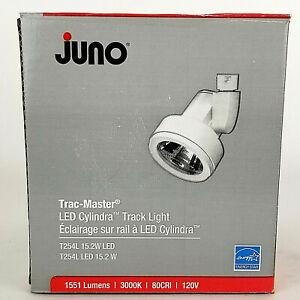 Juno Trac-Master 1-Light Dimmable White Gimbal Head(s) Track Lighting Head