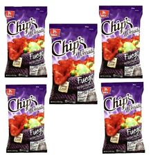 CHIPS FUEGO Mexican chips BARCEL 5 BAGS, (46 G EACH)