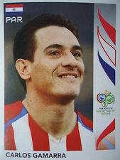 PANINI 118 CARLOS GAMARRA PARAGUAY FIFA Coupe du Monde 2006 Germany