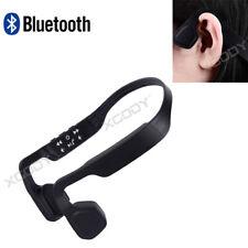 Bluetooth Bone Conduction Headphones Stereo Wireless Earphone Headset Sports