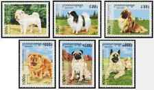 Timbres Chiens Cambodge 1440/5 ** lot 27323