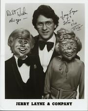 JERRY LAYNE - PHOTOGRAPH SIGNED 04/11/1985