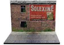 """Diorama présentoir Publicité murale """"Solexine"""" - 1/43ème - #MR43B017"""
