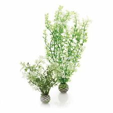 Biorb medio invierno Flores fácil planta Pack De 2 De Plástico Para Acuario
