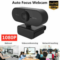 1080P HD Webcam Desktop Laptop Computer PC Camera Built in Microphone On Sale !!