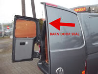 VW TRANSPORTER T5 GP T5.1 T6 - REAR BARN DOUBLE DOOR SEAL GASKET RUBBER TRIM