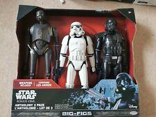 Star wars Action Figures BUNDLE New  Stormtrooper jakks yoda x3