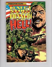 Desert Storm: Send Hussein to Hell #1!  Innovation Comics!