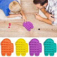 Among Us Push Bubble Fidget Sensory Toy Stress Relief Kids Toys Pop it tiktok