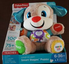 Fisher-Price Smart Stages Puppy Talk Learning Doll Toys Musical Boys & Girls