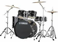 Yamaha Rydeen Drum Kit, Black Glitter w/ Hardware And Paiste Cymbals RDP2F5-BLG