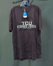NWT Men's TCU Horned Frogs Logo T Shirt Color: Vintage Purple Size: XL