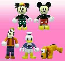 Yujin Gashapon Disney Box Figure Mickey Donald Duck Goofy,Minnie Mouse Pluto Set