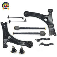 New 10pc Complete Front Suspension Kit for 2003 - 2008 Toyota Corolla