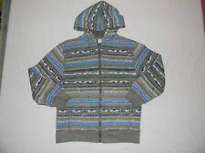 Gymboree SLOPE STAR Hooded Zippered Sweatshirt sz 7 8
