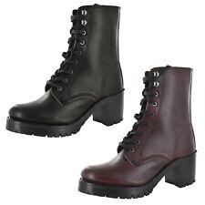 Frye Womens Sabrina Moto Lace Up Shin High Boots