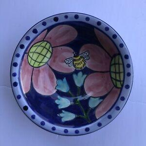 Damariscotta Pottery Maine Small Bowl Bee 2019