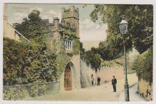 Wales postcard - Porthmawr Gate - P/U (Duplex Postmark)