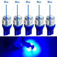 5X T10 Wedge 5SMD 5050 Ice Blue LED Light bulbs W5W 2825 158 192 168 194 Interi