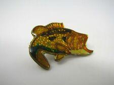 Bass Fish Pin Vintage