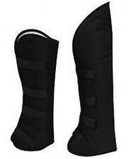 Showman Black Cordura Nylon Horse Shipping Boots! Set Of 4! New Horse Tack!